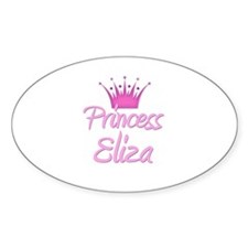 Princess Eliza Oval Decal