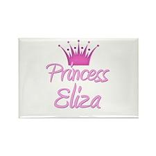 Princess Eliza Rectangle Magnet
