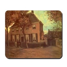 Van Gogh Vicarage at Nuenen Mousepad