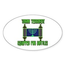 Torah Terrorist! Oval Decal