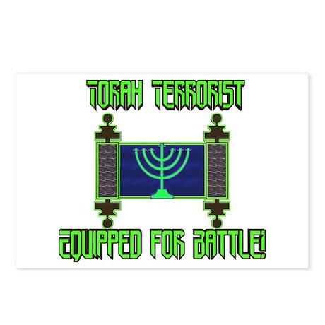 Torah Terrorist! Postcards (Package of 8)