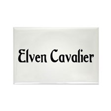 Elven Cavalier Rectangle Magnet