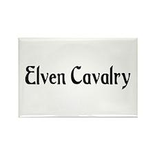 Elven Cavalry Rectangle Magnet