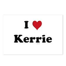I love Kerrie Postcards (Package of 8)