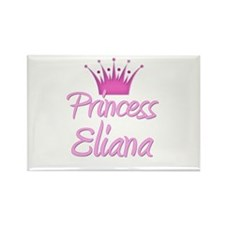 Princess Eliana Rectangle Magnet