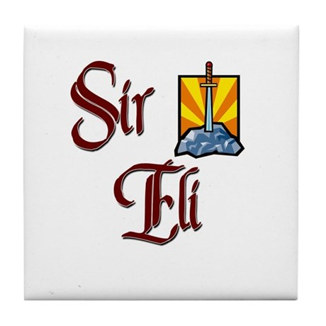 Sir Eli Tile Coaster