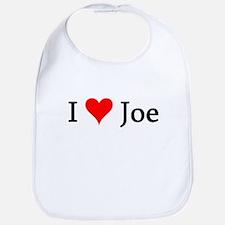 I Love Joe Bib