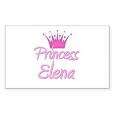 Princess Elena Rectangle Decal