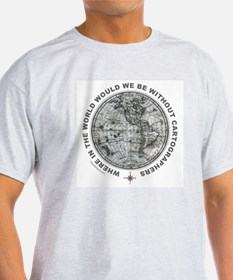 MAP/CARTOGRAPHY T-Shirt