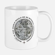 MAP/CARTOGRAPHY Small Small Mug