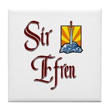 Sir Efren Tile Coaster