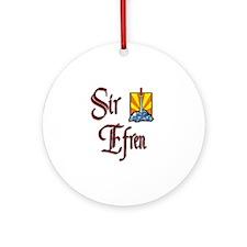 Sir Efren Ornament (Round)