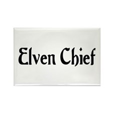Elven Chief Rectangle Magnet