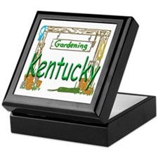 Kentucky Garden Keepsake Box