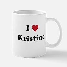 I love Kristine Mug
