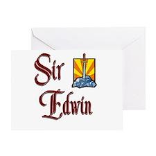 Sir Edwin Greeting Card