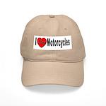 I Love Motorcycles Cap