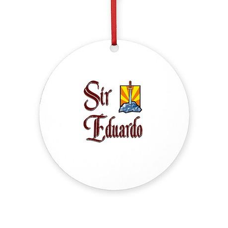 Sir Eduardo Ornament (Round)