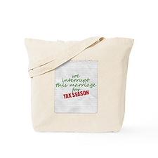 Funny 1040 Tote Bag