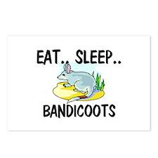 Eat ... Sleep ... BANDICOOTS Postcards (Package of