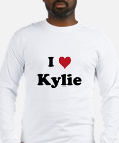 I love Kylie Long Sleeve T-Shirt