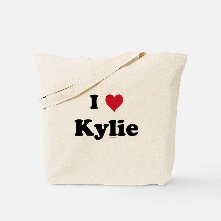 I love Kylie Tote Bag