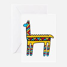 Llama-colors Greeting Cards (Pk of 10)