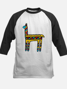 Llama-colors Kids Baseball Jersey