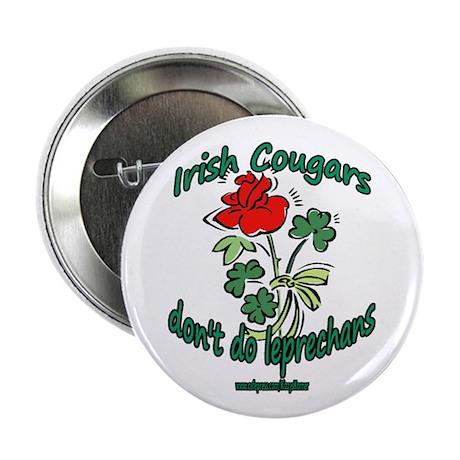 "IRISH COUGAR 2.25"" Button"
