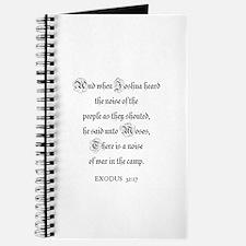 EXODUS 32:17 Journal
