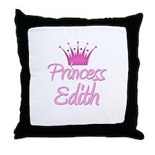 Princess Edith Throw Pillow