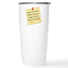 """""""Rose Poem"""" Travel Mug"""