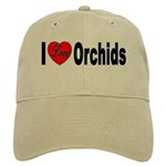 I Love Orchids Cap