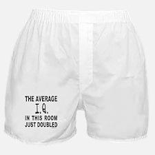 INTELLIGENCE/I.Q. Boxer Shorts