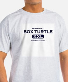 Property of Box Turtle Ash Grey T-Shirt