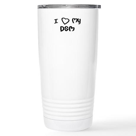 I Love My DSM Stainless Steel Travel Mug