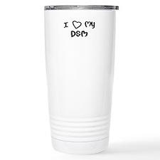 I Love My DSM Travel Mug