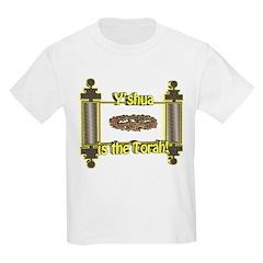 Y'shua is the Torah! Kids T-Shirt