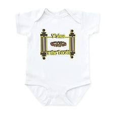 Y'shua is the Torah! Infant Bodysuit