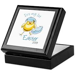 It's My First Easter '09 Keepsake Box
