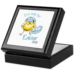 It's My First Easter '09 Keepsake Box