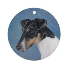 Smooth Fox Terrier Ornament (Round)