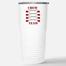 Crew Team Stainless Steel Travel Mug
