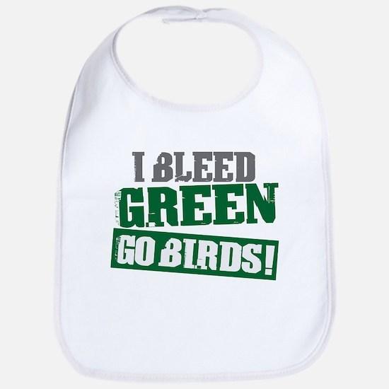 I Bleed Green (Philly) Bib
