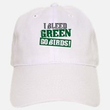 I Bleed Green (Philly) Baseball Baseball Cap