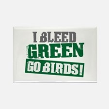 I Bleed Green (Philly) Rectangle Magnet