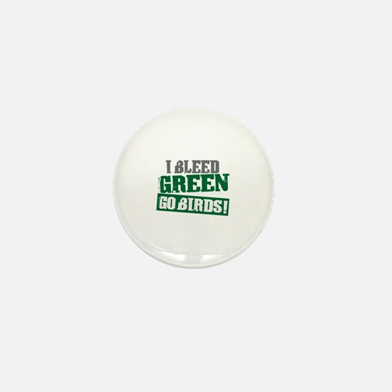 I Bleed Green (Philly) Mini Button