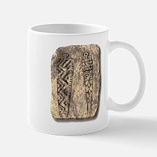 Pictograph Men - stone Mug