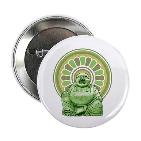 "Laughing Buddha 2.25"" Button"