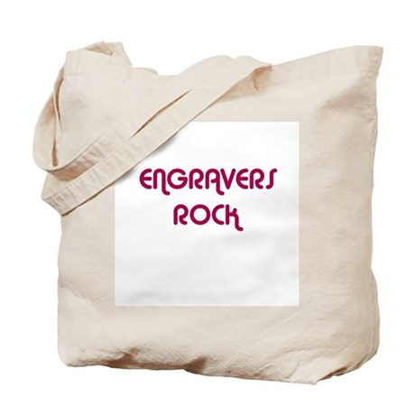 ENGRAVERS ROCK Tote Bag